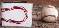 genuine baseball wallet
